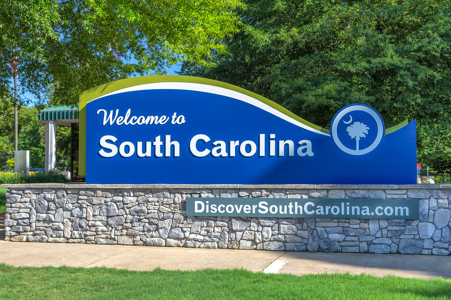 South Carolina in Top Ten Most Popular Places for New Residents