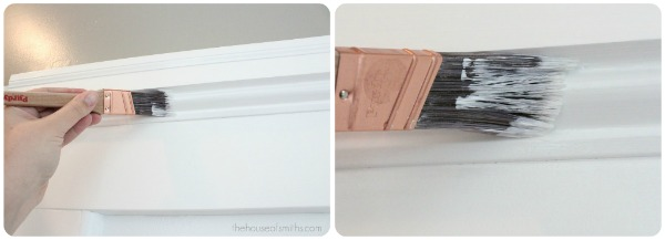 tips for painting trim