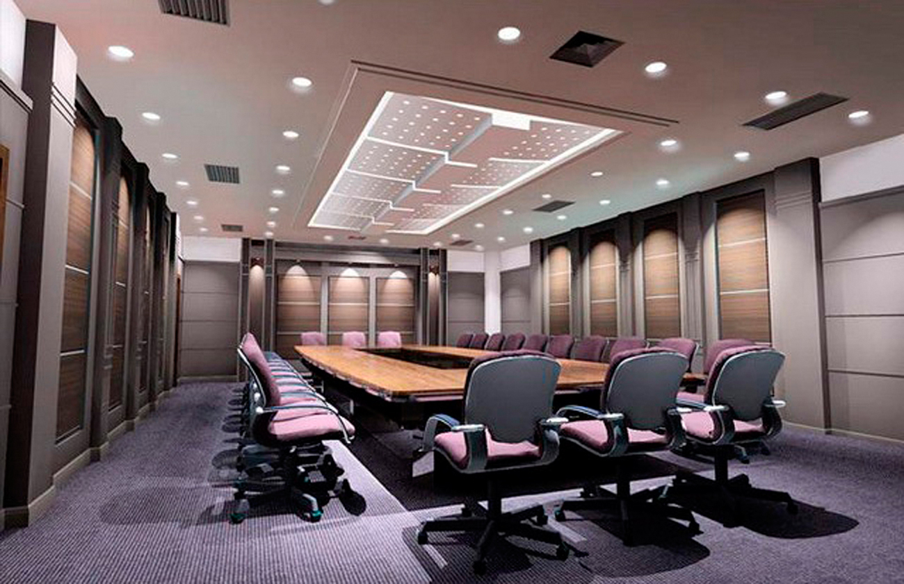 Trim work archives carolina services inc for Office conference room decorating ideas