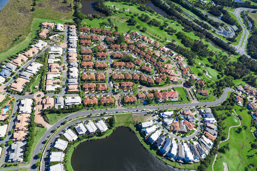 Growth in Suburbs Outpaces Urban Areas