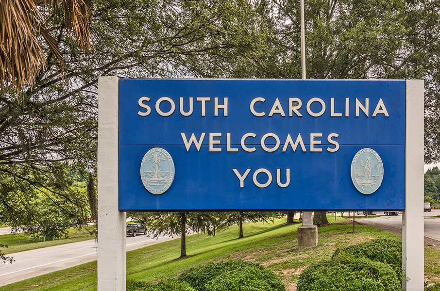 89 Percent of New South Carolina Residents from Out of State